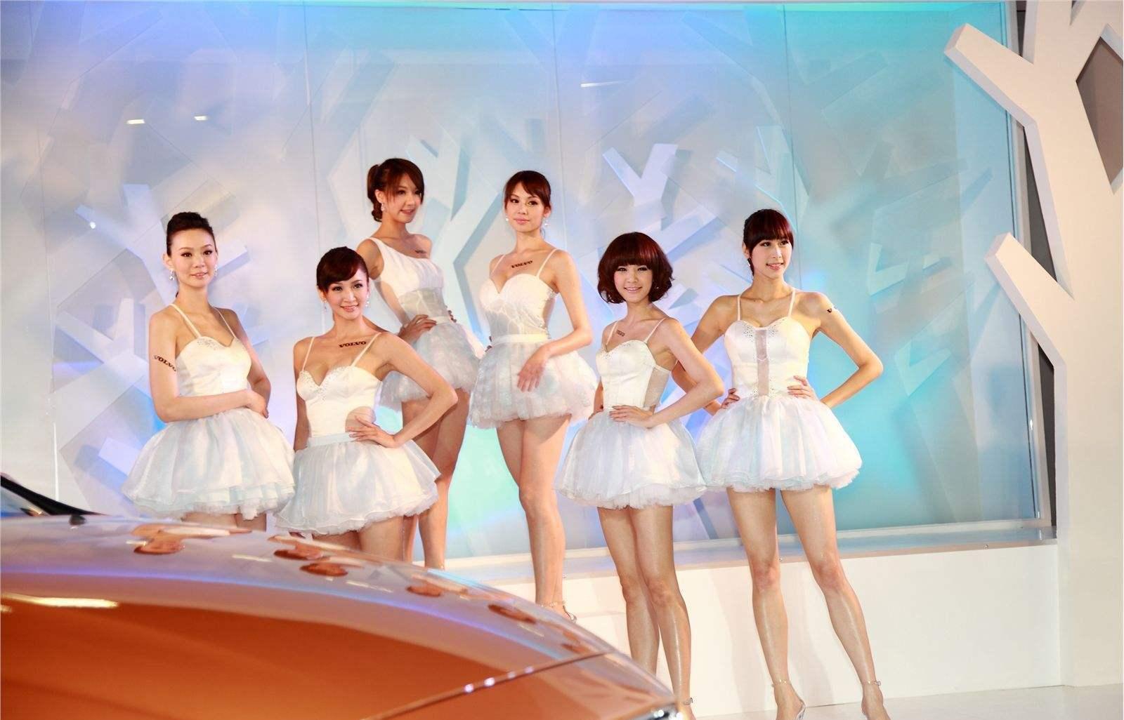 车模也分三六九等 甜美/性感/气质佳哪一款受追捧