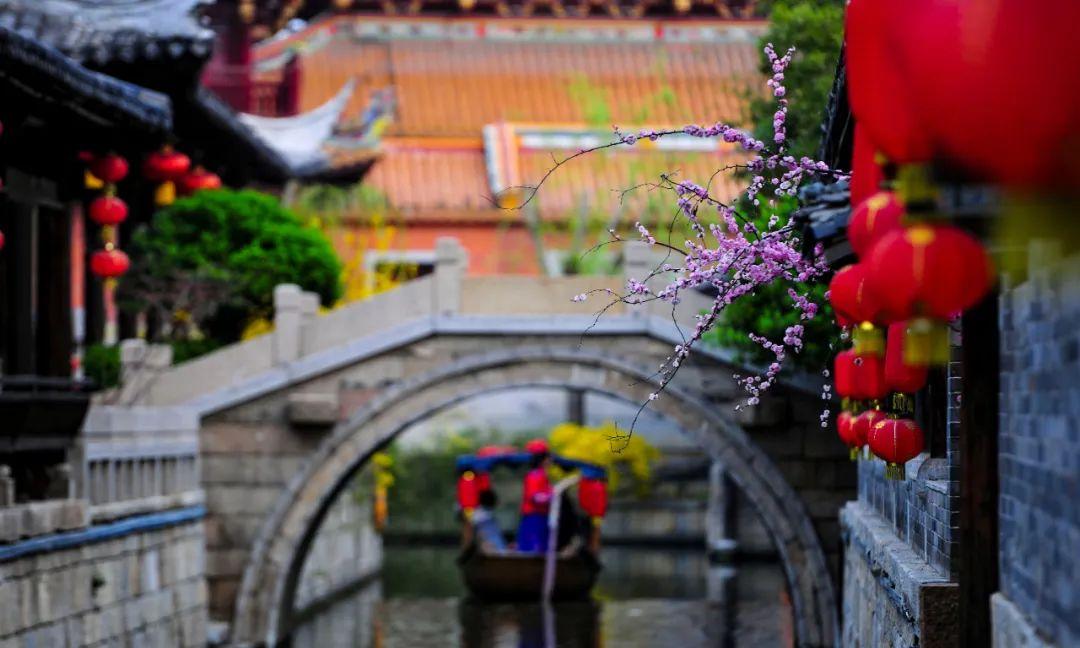 台儿庄古城安心游,再见是春暖花开,我在这等你!