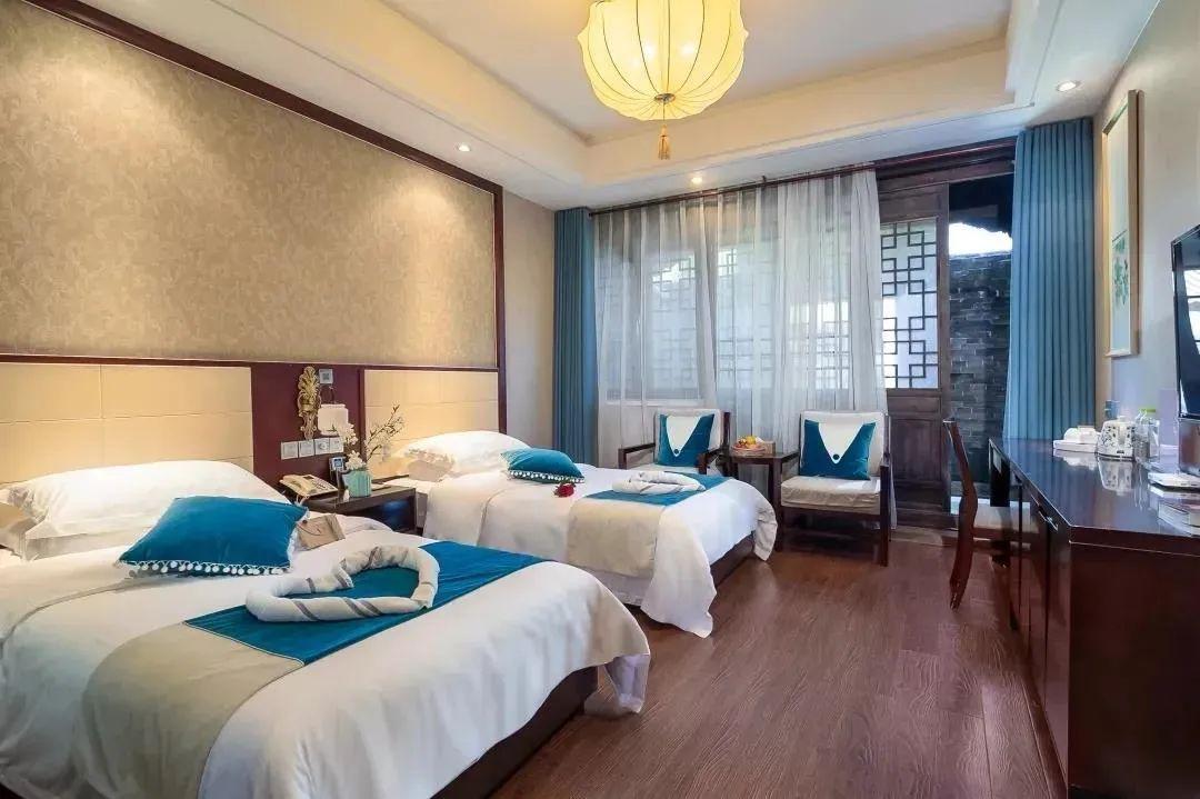 台儿庄古城之行住哪里,兰祺酒店帮您安排!
