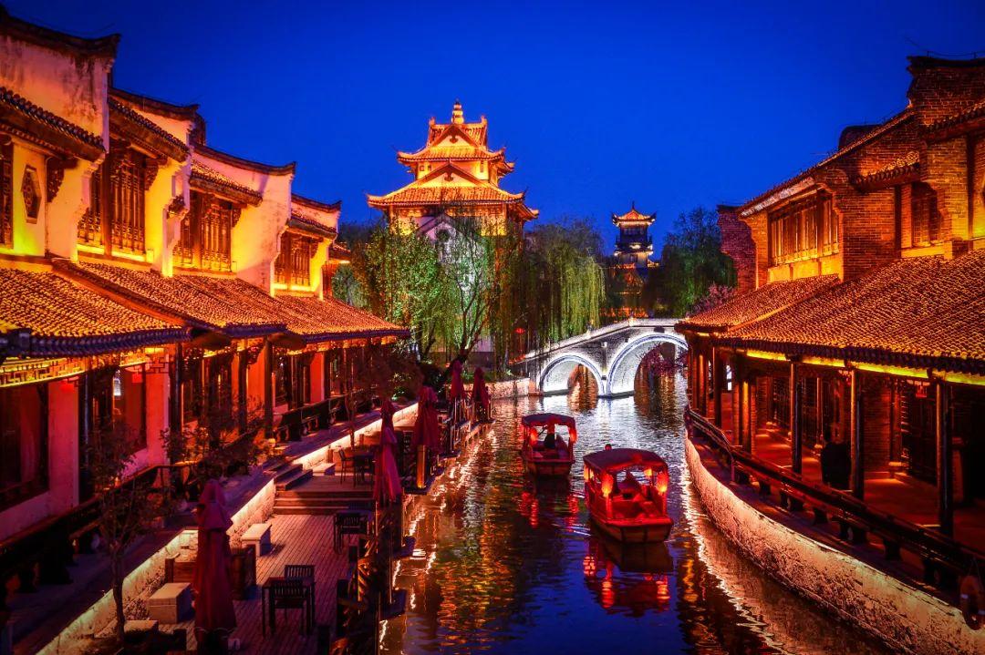 快旅漫游,我带你去台儿庄古城!