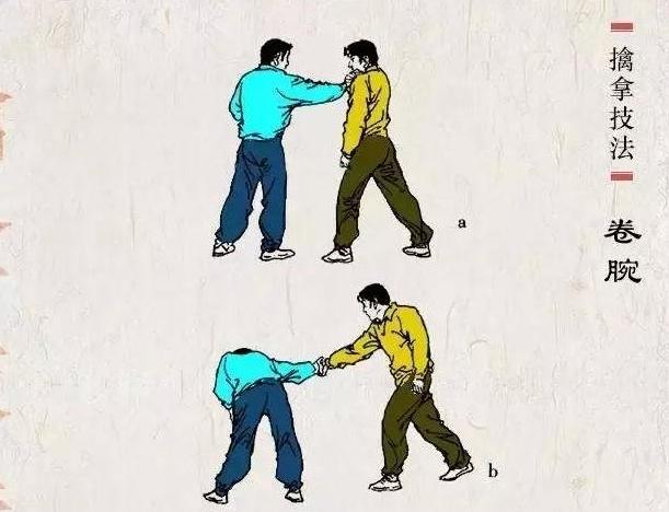 武术擒拿技法