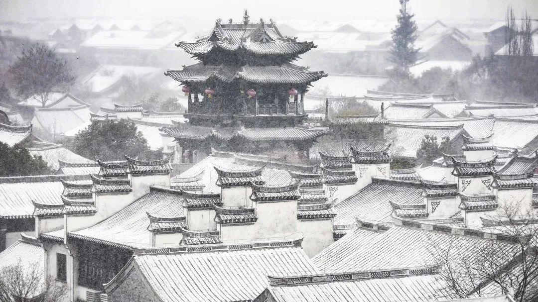 惊艳!14组照片,带你看尽台儿庄古城春夏秋冬的变迁!
