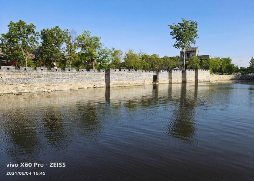 大运河中河台儿庄(月河)段驳岸修缮保护工程顺利完工